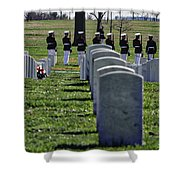 Arlington Cemetery Washington Dc Usa Shower Curtain