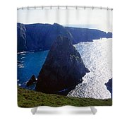 Arranmore Island, County Donegal Shower Curtain