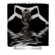 Art Of A Woman Shower Curtain