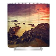 Art Of Landscape Shower Curtain