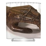 Artificial Left Hand, C. 1880 Shower Curtain