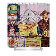 Artisan Market In Quito Shower Curtain