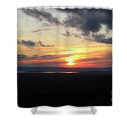 As The Sun Goes Down Shower Curtain