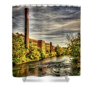 Ashton Mill, Cumberland, Ri Shower Curtain