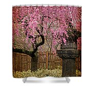 Asian Spring Shower Curtain by Chris Lord
