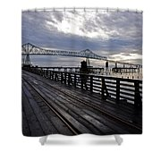 Astoria-megler Bridge 4 Shower Curtain