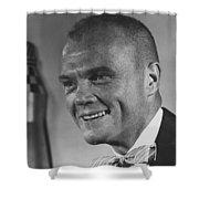 Astronaut John Glenn Shower Curtain