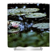 At Claude Monet's Water Garden 6 Shower Curtain