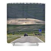 Parko Nazionale Dei Monti Sibillini, Italy 11 Shower Curtain