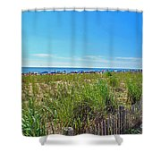 At The Beach Shower Curtain