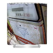 At The Pump 1 Shower Curtain