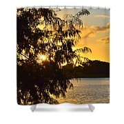 Atardecer En Hialeah Shower Curtain