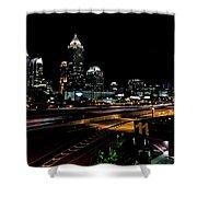 Atlanta Expressway Shower Curtain