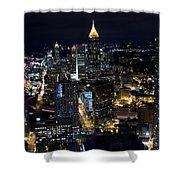 Atlanta Georgia - Evening Commute Shower Curtain