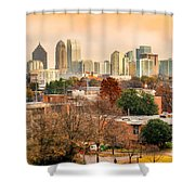 Atlanta - Georgia - Usa Shower Curtain