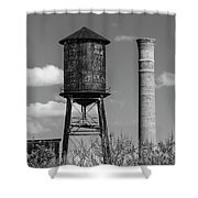Atlanta Water Tower Shower Curtain