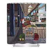 Atwater Market Shower Curtain