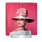 Audtrey Hepburn Breakfast Tiffany's Shower Curtain