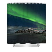 Aurora Borealis, Northern Lights Shower Curtain