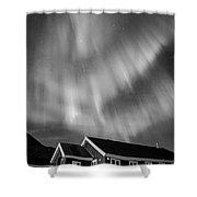 Aurora Tasiilaq Greenland 7839 Shower Curtain