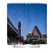 Austin Bat Watch Shower Curtain