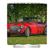 Austin Healey 100 Shower Curtain