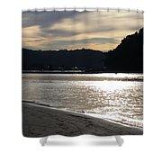 Australia - Sun Glistens On Umina Beach Shower Curtain
