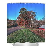 Autumn Countryside - North Carolina Shower Curtain