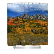 Autumn Crown Shower Curtain