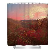 Autumn In The Rolling Hills Shower Curtain