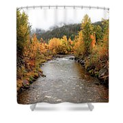 Autumn Is In The Air Shower Curtain