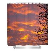 Autumn Sky Shower Curtain