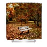 Autumn Splendors Shower Curtain