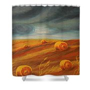 Autumn Storm Shower Curtain