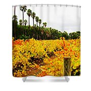 Autumn Vines Shower Curtain