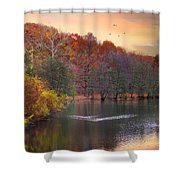 Autumn's Allure Shower Curtain