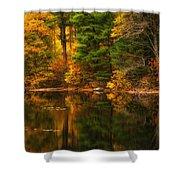 Autumns Calm Shower Curtain