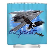 B-2 Spirit Shower Curtain