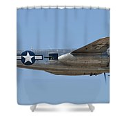 B-25 Shower Curtain