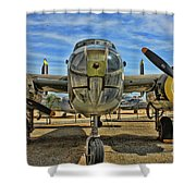 B-25 Mitchell Shower Curtain