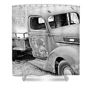 B/w138 Shower Curtain
