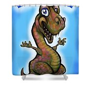 Babyzilla Shower Curtain