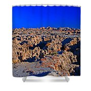 Badlands At Sunset Shower Curtain