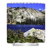 Baker Lake, Idaho Shower Curtain
