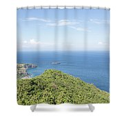 Bali North Coast Shower Curtain