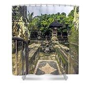 Bali Temple Shower Curtain