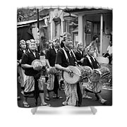 Balinese People Shower Curtain