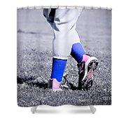Ball Player Shower Curtain