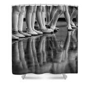 Ballet Class Shower Curtain