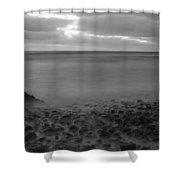 Ballyconnigar Strand At Dawn Shower Curtain